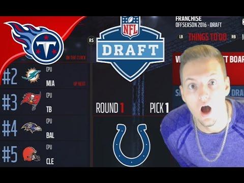 2017 NFL DRAFT! - Madden 17 Titans Connected Franchise #24