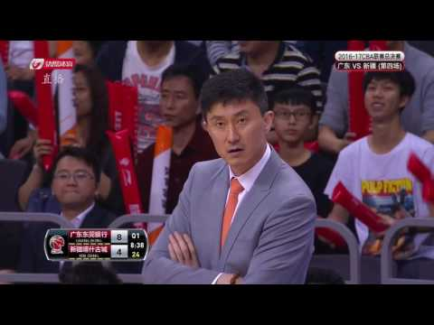 CBA Playoff Final Game 4 XingJiang VS Guangdong 4/7