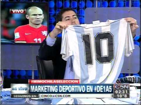 C5N - ARGENTINA A LA FINAL: MARKETING DEPORTIVO EN DE 1 A 5