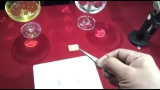 Test ketulenan emas 999.9 dan emas 916