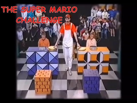 The Super Mario Challenge— obscure British TV show