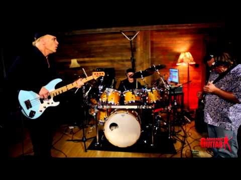 Billy Sheehan, Clint Strong, and Mike Gage Amazing Jam Session in HD