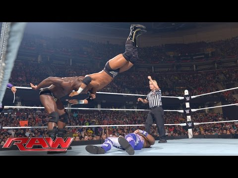 Neville & The Prime Time Players vs. The New Day: Raw, June 15, 2015