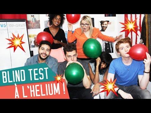 BLIND TEST à l&39;helium avec Pierre Croce