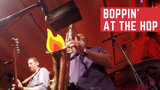 Honker Saxophone solo ¨Boppin' At The Hop¨ (by Lee Allen)