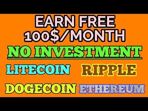 100 investment per month in crypto