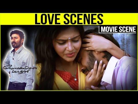 Velaiilla Pattadhari - Tamil Movie - Love Scenes | Dhanush | Anirudh