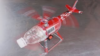 How to make a Helicopter using cans - electric Helicopter very Easy to make#28