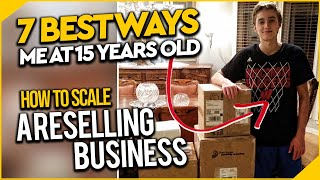 7 Ways To INCREASE Your Amazon FBA Reselling Business ($5,000-$10,000) Per Month!