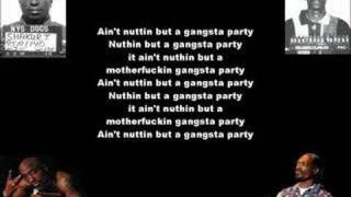 Tupac ft. Snoop Dogg - 2 Of Amerikaz Most Wanted (lyrics!)