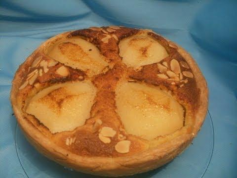 comment-faire-une-tarte-aux-poires-et-amandes---recette-tarte-amandine