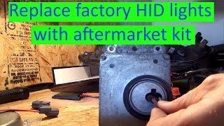 2003 acura cl or tl replace factory hid lights with aftermarket kit