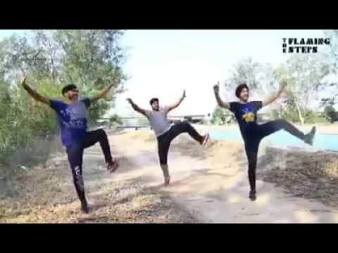 The amazing punjabi dance and bhangra by boys on punjabi song RECORD BOLDE BY Ammy Virk