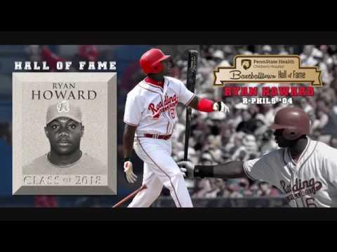 Ryan Howard Baseballtown Hall of Fame