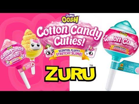 ZURU COTTON CANDY CUTIES   ZURU OOSH UNBOXING AND REVIEW