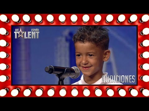 Con solo 6 años canta flamenco como un profesional | Audiciones 5 | Got Talent España 2018