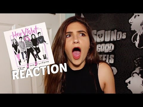 """HEY VIOLET - """"FROM THE OUTSIDE"""" (REACTION)"""