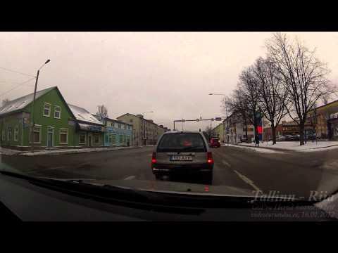 Tallinn - Pärnu - Riia [timelapse, HD]