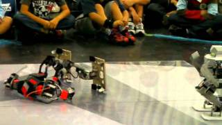 Robot Battle @58th Riko-Ten, Garoo vs G-Saaga