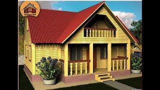 видео Дома из бруса под усадку - заказать строительство дома под усадку из профилированного бруса в Санкт-Петербурге