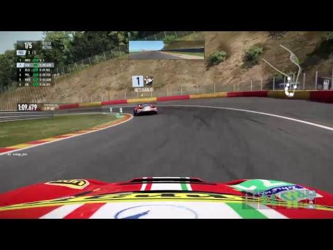 Project Cars 2 Ferrari 488 GTE Spa Francorchamps GP OnBoard