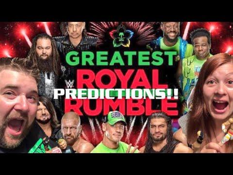 WWE GREATEST ROYAL RUMBLE PREDICTIONS 2018!