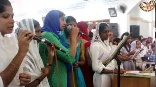 "Aramaic Project-Part 29A. Sunday School children sing ""Laaku Maaraa"" during Qurbana in Malayalam"