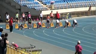 101年全國大專院校田徑公開賽男甲100公尺預賽