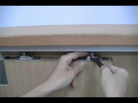 拉門器安裝 隱藏木門用 Install Steps Of Hidden Auto Sliding Door