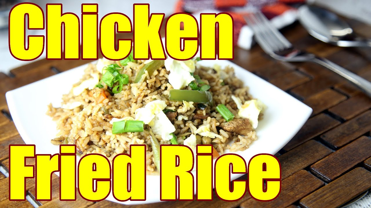 How To Prepare Chicken Fried Rice | Simple Indian Recipes #3