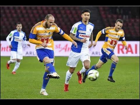 Grasshoppers Zürich vs. FC Luzern/ 1:2 - Full Match - 11.02.2018