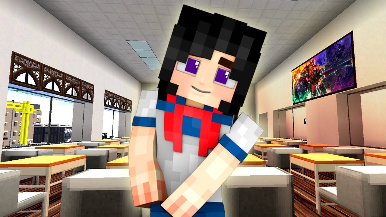 YouTube Gaming - Skins para minecraft de yandere