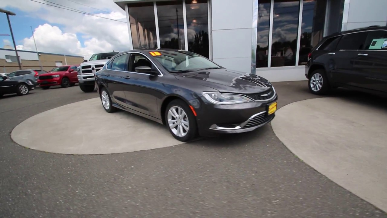 2015 Chrysler 200 Limited Gray >> 2015 Chrysler 200 Limited | Gray | FN741112 | Mt Vernon