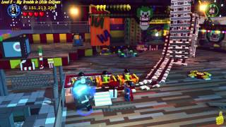 Lego Batman 3 Beyond Gotham: Lvl 8 Big Trouble in Little Gotham FREE PLAY (All Collectibles) - (HTG)