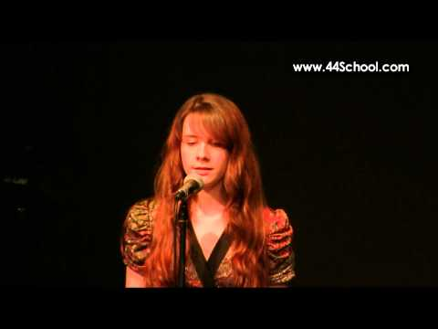 Rae H 44 School of Music Fall 2012 Concert Voice Lessons
