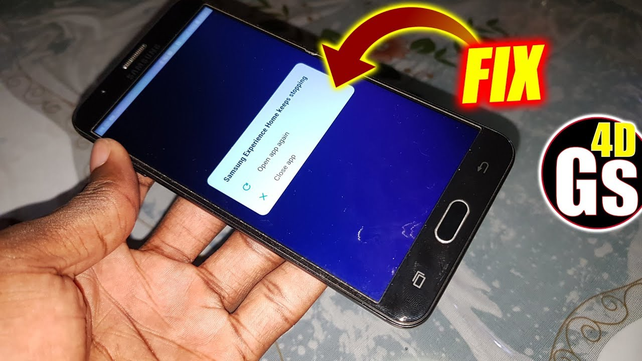 Galaxy J7 Prime : How to FIX Samsung Experience Home keeps Stopping