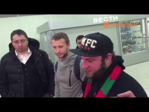 Освобожденные из тюрьмы во Франции болельщики вернулись в Россию