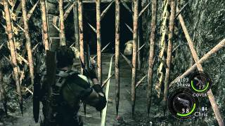 Resident Evil 5 Walkthrough Part 4 ( Veteran Chapter 2-2 )