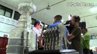 Jonathan Toews Brings The Stanley Cup Home - July 10, 2015 - Winnipeg, Manitoba