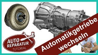 AUTOMATIKGETRIEBE WECHSELN  | BMW Getriebe [Tutorial] change automatic transmission