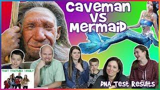 Neanderthal vs Mermaid  / That YouTub3 Family