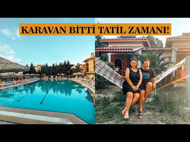 GİTFEST SONRASI KARAVANLA BUNGALOW'DA TATİL ZAMANI