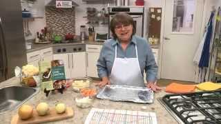 Nancy Hughes: Roasted Cauliflower Onions And Sweet Potatoes