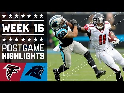 Falcons vs. Panthers   NFL Week 16 Game Highlights