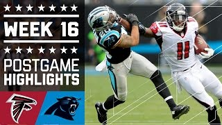 Falcons vs. Panthers | NFL Week 16 Game Highlights