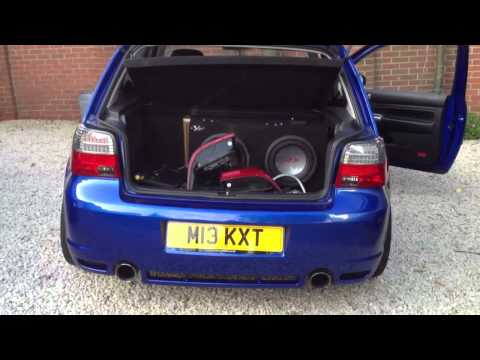 Led M3 Fk Depo Style Led Rear Tail Lights On A Golf Mk4