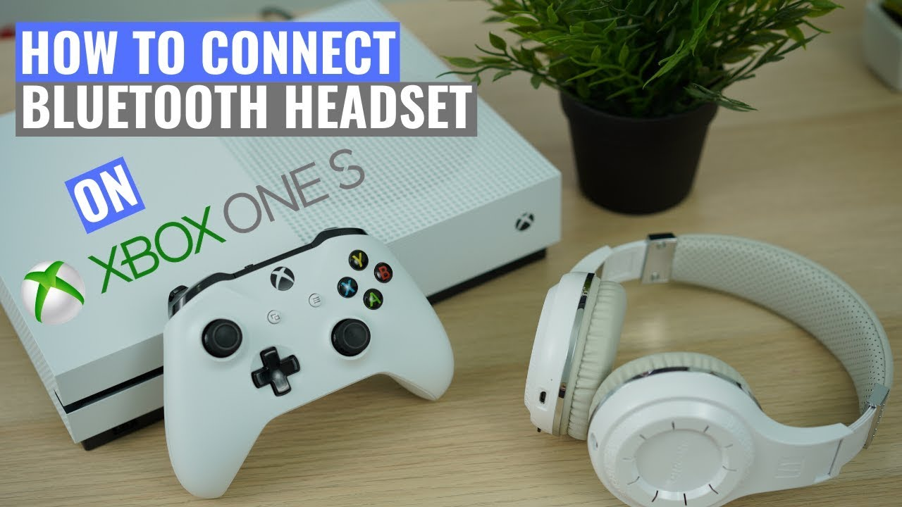 How To Connect Bluetooth Headset To Xbox One S Optical Transmitter Youtube