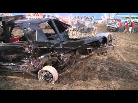 Demolition Recap, Salt Lake county fair Day 2