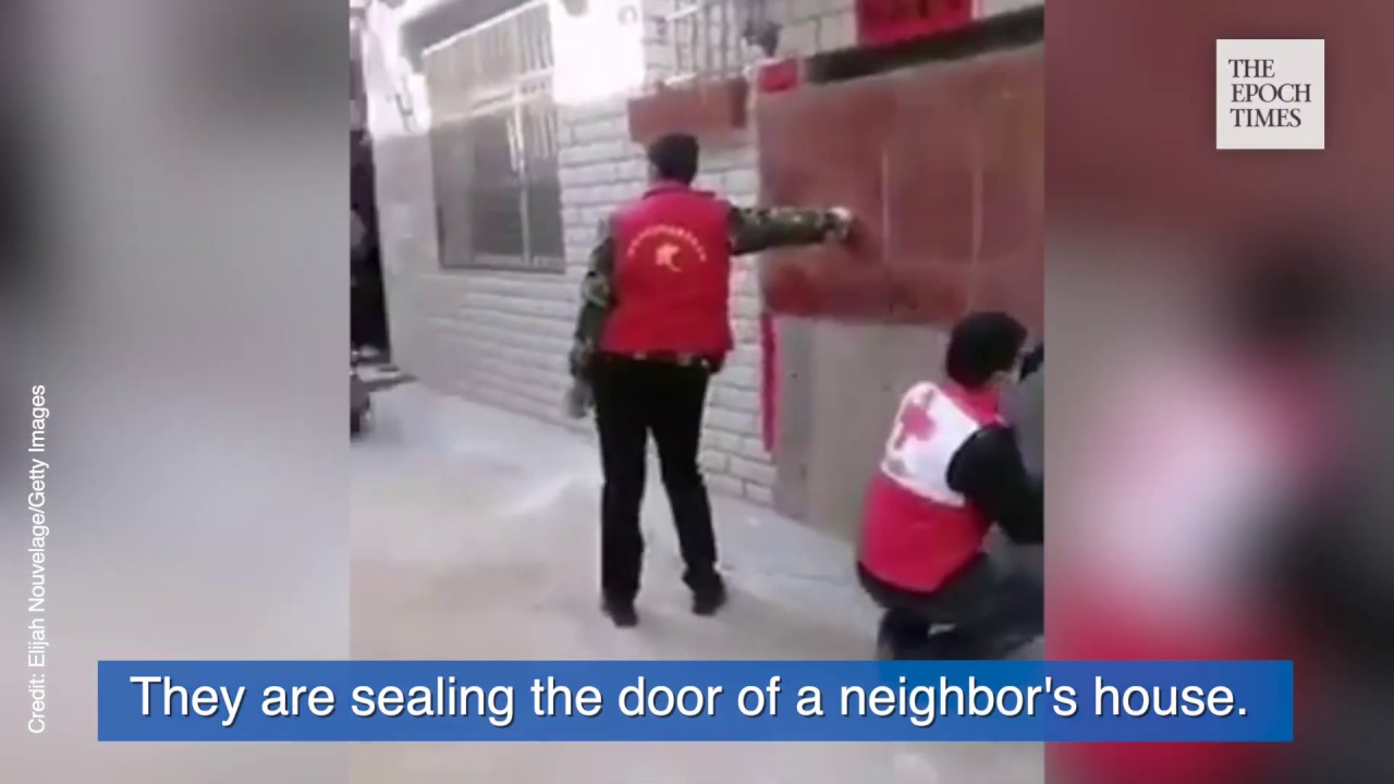 Chinese Authorities Seal Entrances to People's Houses and Forcibly Quarantine Them | #Coronavirus
