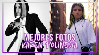 LAS MEJORES FOTOS DE KAREN POLINESIA 2021